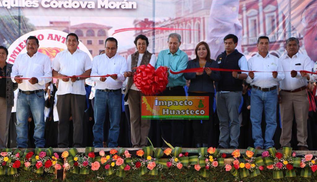 Antorcha forma la fuerza política para transformar a México: Samuel Aguirre - Impacto Huasteco