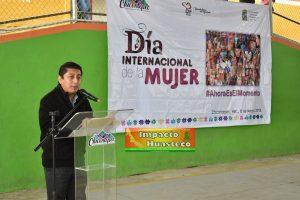 Chicontepec conmemoró el Día Internacional de la Mujer